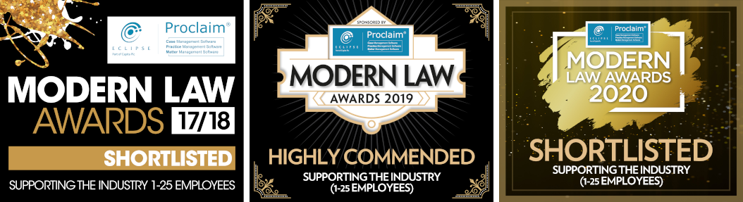 Modern Law Awards Logos